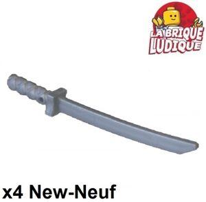 Minifig Weapon Machete Flat Silver LEGO