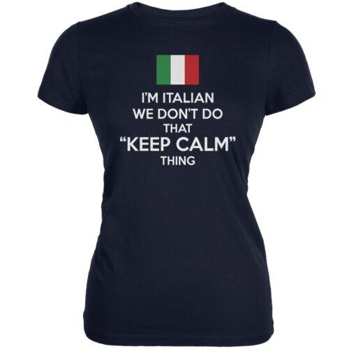 Italian Navy Juniors Soft T-Shirt Don/'t Do Calm