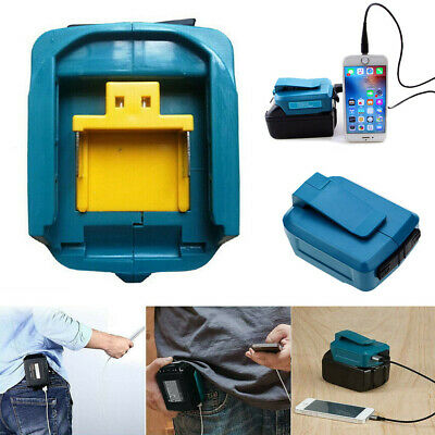 USB Ladeadapter Für 14-18 V Batterien Makita Drehwerkzeug Akkuladegerät Makita 1