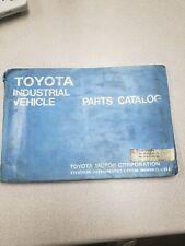 Toyota 30 40 2fbca20 25 400p Forklift Parts Manual