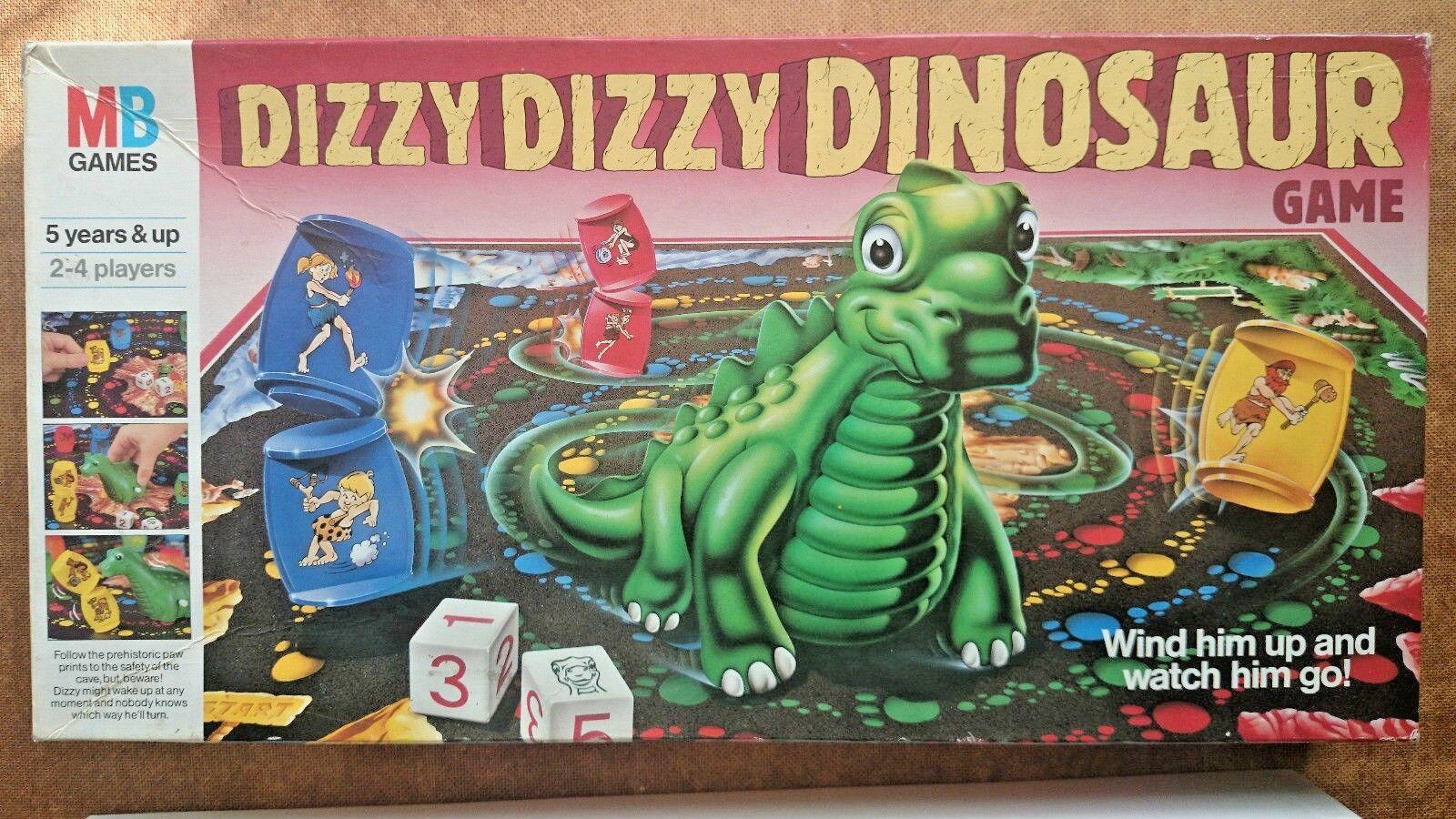Dizzy Dizzy Dinosaur Dinosaur Dinosaur  MB 1987 2c4087