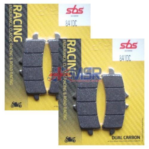 Aprilia RSV4 Front Brake Pads SBS Dual Carbon 841DC 2009-2016