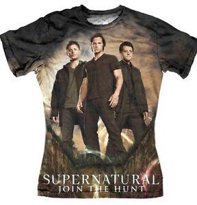 Tee-shirt-femme-Supernatural-tee-shirt-Sublimation-group-Supernatural-tee-shirt