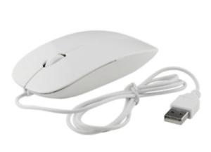MOUSE OTTICO con FILO USB 1000 DPI ULTRA SLIM ULTRA LEGGERO