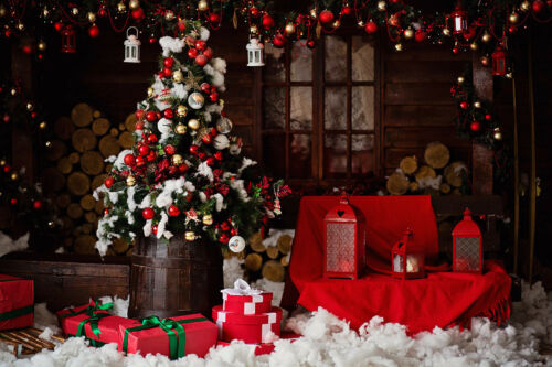 Vinyl Photo Photography Studio Props New Custom Christmas Backdrop Background