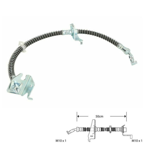 FRONT RIGHT BRAKE FLEXI HOSE BRAKE PIPE FIT LANDROVER DISCOVERY 2 98-04 BFH3705A