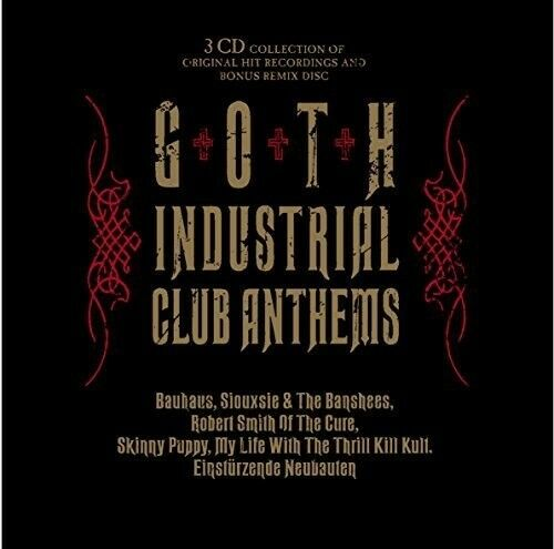 Various Artists - Goth Industrial Club Anthems [New CD]