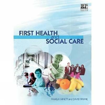 1 of 1 - First Health and Social Care, Good Condition Book, David Wayne, Pamela Minett, I