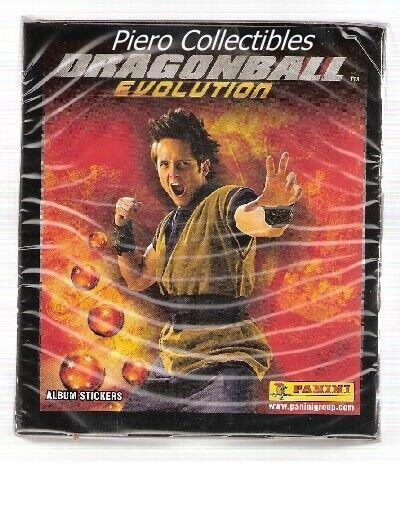 Dragonball Evolution//50 bolsas sticker//Panini