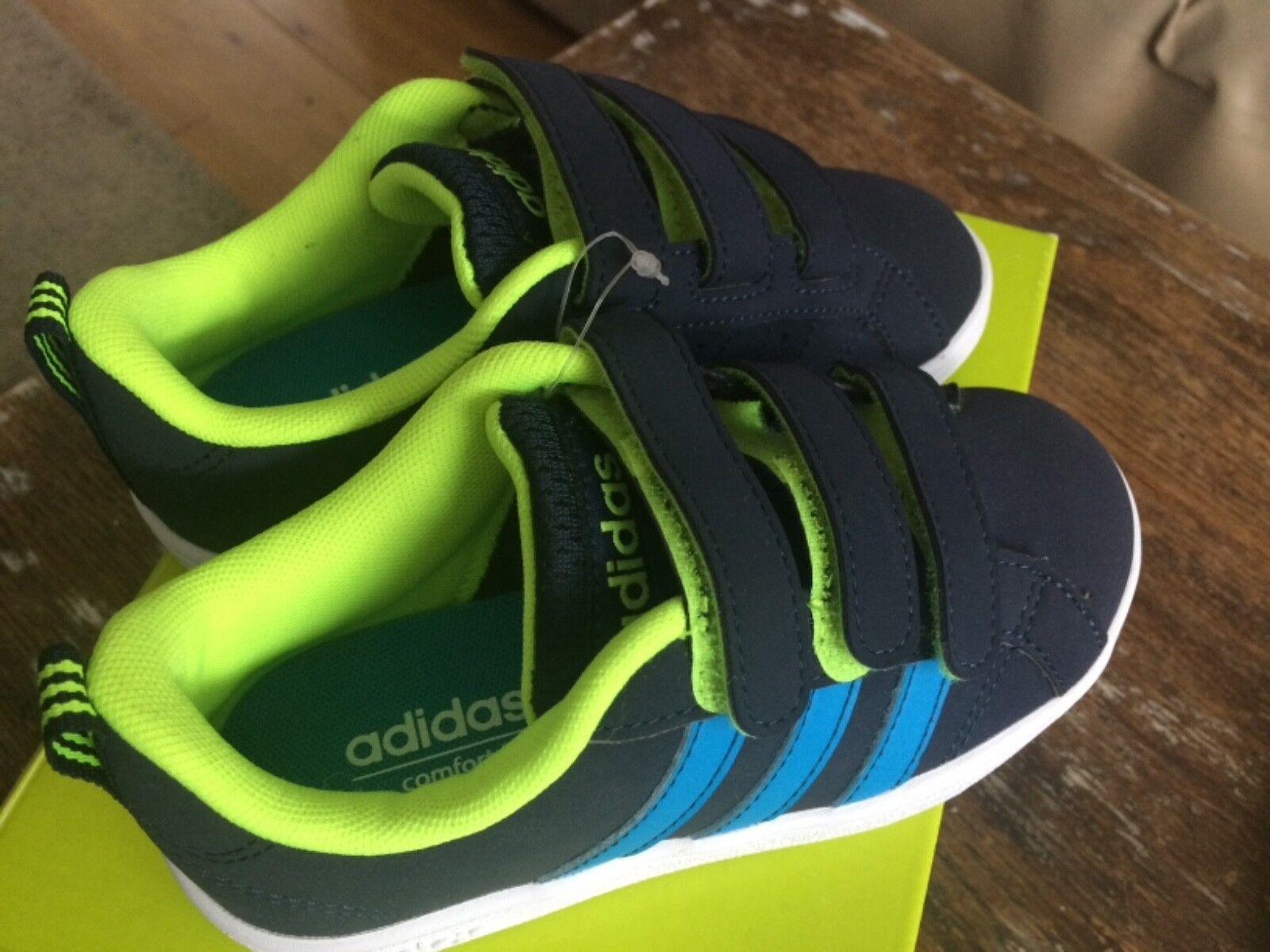 Adidas Adidas Adidas neo vantaggio scamosciato formatori scorpe bambino | una vasta gamma di prodotti  8ec4fe