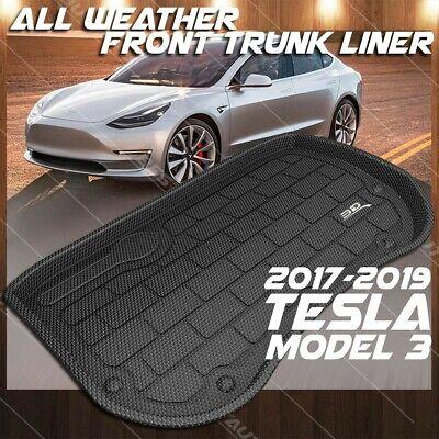 BASENOR Tesla Model 3 3D Cargo Liner Front Frunk Mat/…