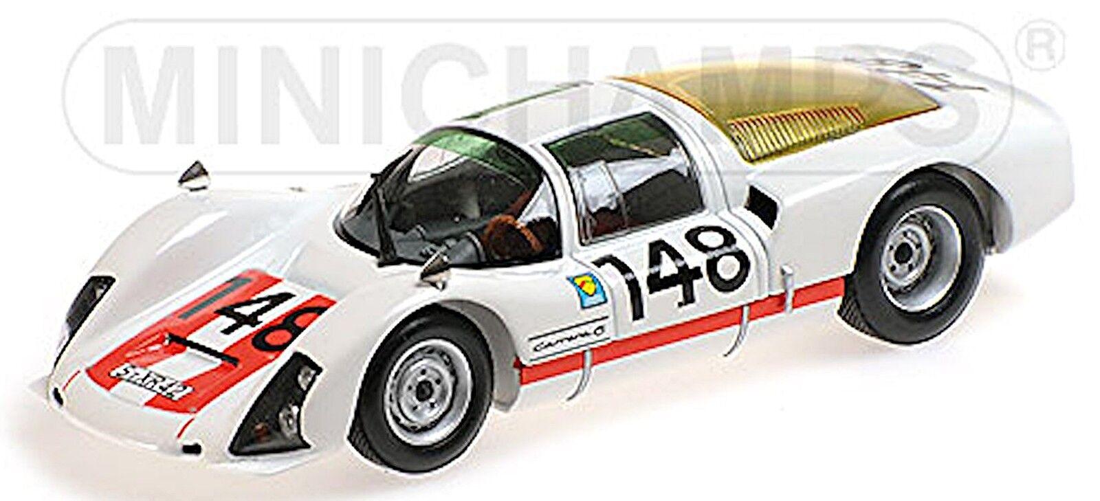 Porsche 906 K Targa Florio 1966 winner Mairesse Müller 1 43 Minichamps
