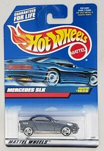 HOT-WHEELS-MERCEDES-SLK-DIE-CAST-VEHICLE-COLLECTOR-1025-MATTEL