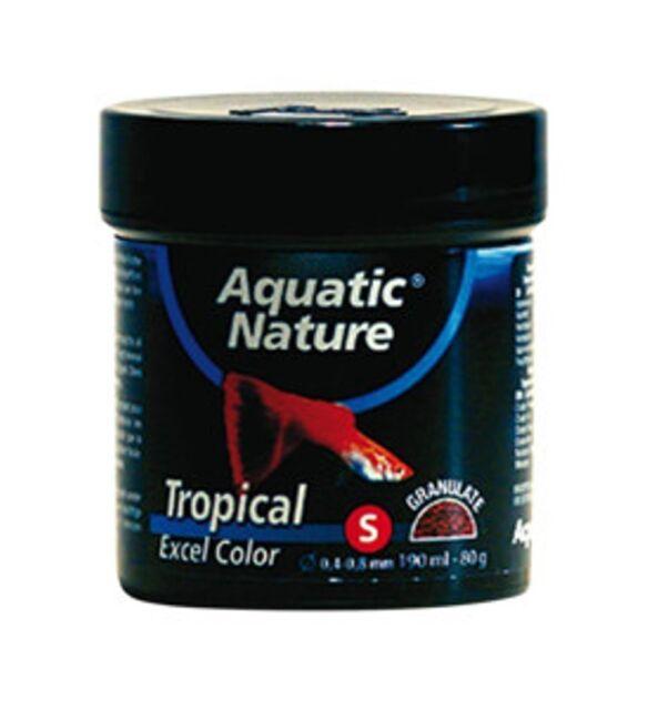 Aquatic Nature Tropical Energy S  250 g Granulatfutter mit Spirulina (52 €/1 kg)