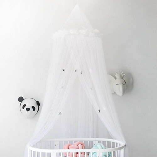 New Bed Valance Kids Room Bed Tent Moustiquaire Princess Kid Round Mosquito Net