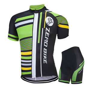 Image is loading Mens-Cycling-Jersey-Shorts-Set-Outdoor-Cycling-Clothing- 9c518f1c2