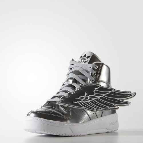77bb332d657a Adidas Originals Jeremy Scott Wings Size 5 us S77798 shoes Metal ...