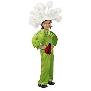 Child Girl's Garden Dandelion Flower Ladybug Halloween Costume Jumpsuit XS S