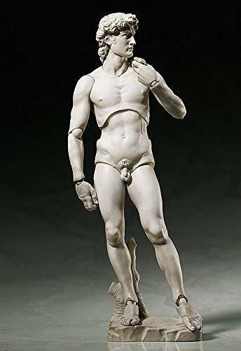 FREEing Table Museum David by Michelangelo Figma Action Figure
