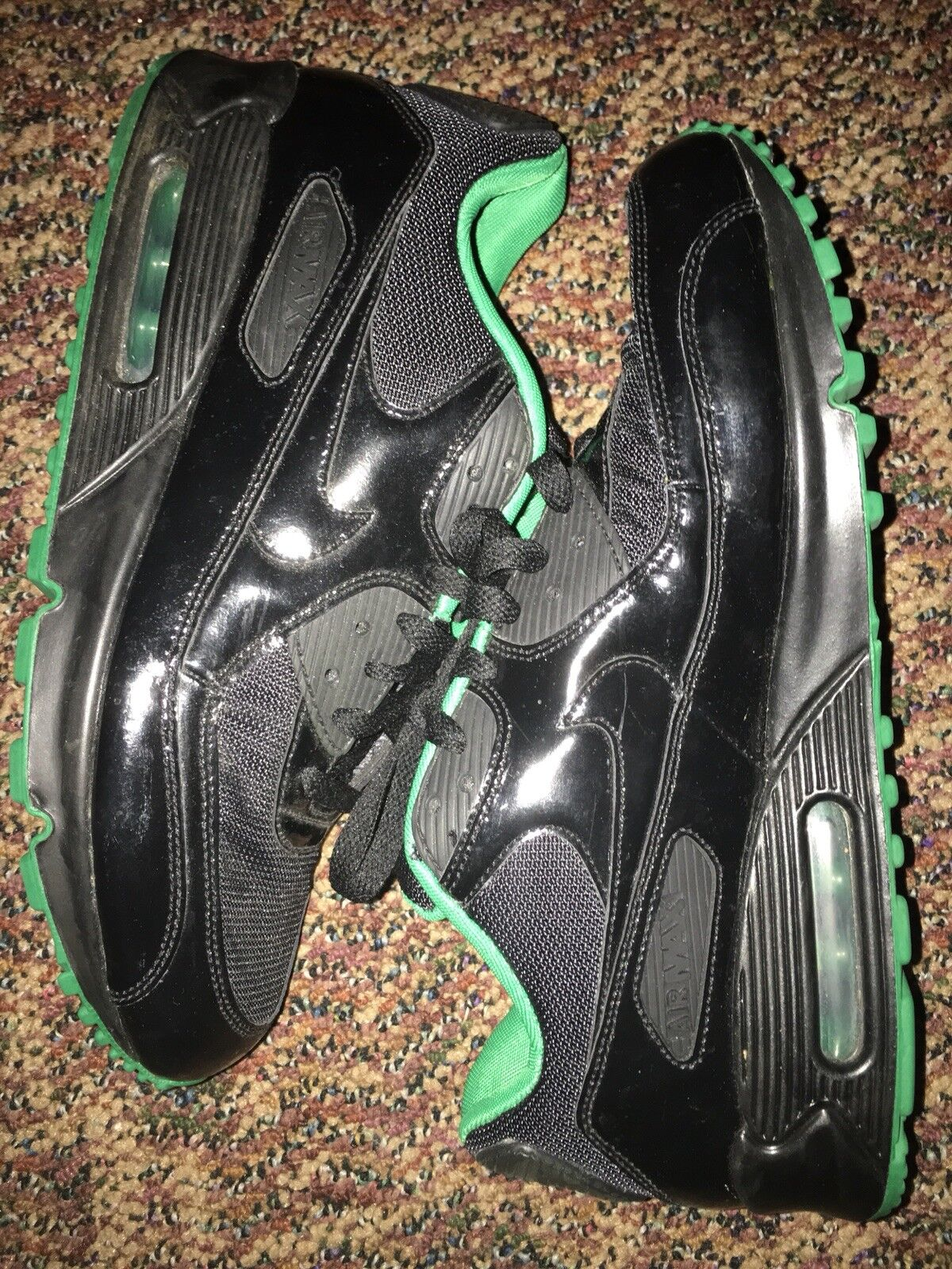 NIKE AIR MAX 90 PREMIUM   RARE     VERY GOOD CONDITION   NO RESERVE   SEE DETAILS  acc3f6