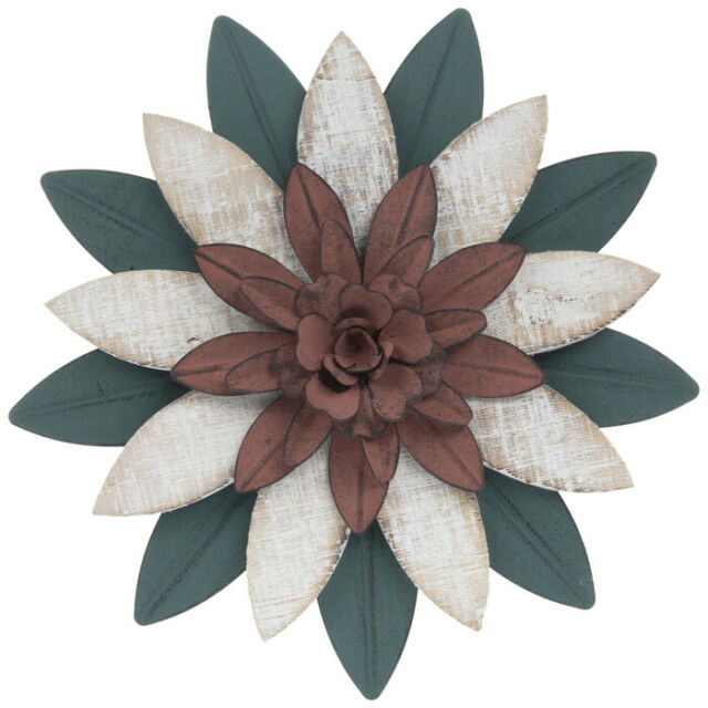 Stratton Home Decor Wood Flower Panel Wall Decor For Sale Online Ebay