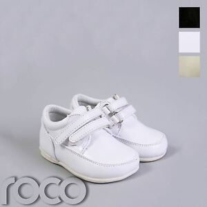 Baby Boys White Shoes, Boys Black Shoes, Cream Page Boy Shoes, Christening Shoes