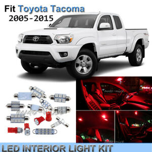 2015 toyota tacoma interior lights