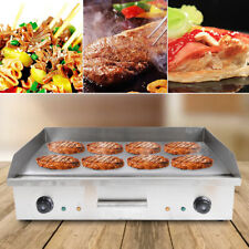Electric Commercial Restaurant Flat Griddle Countertop Stove Grill Cooktop Usa