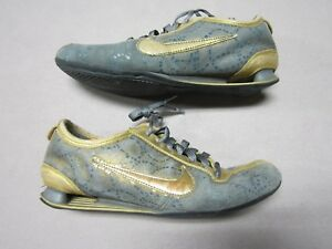 Image is loading NIKE-SHOX-RIVALRY-PREMIUM-WOMENS-GOLD-TRAINING-SHOES-