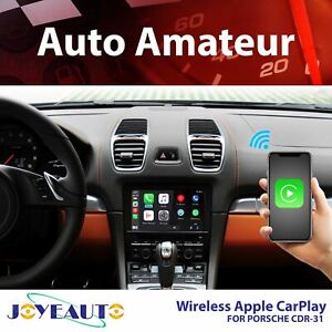 JoyeAuto for Porsche CDR-31 Apple CarPlay & Android Auto (Wireless)