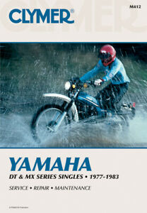 image is loading clymer-repair-manual-for-yamaha-dt100-dt125-dt175-