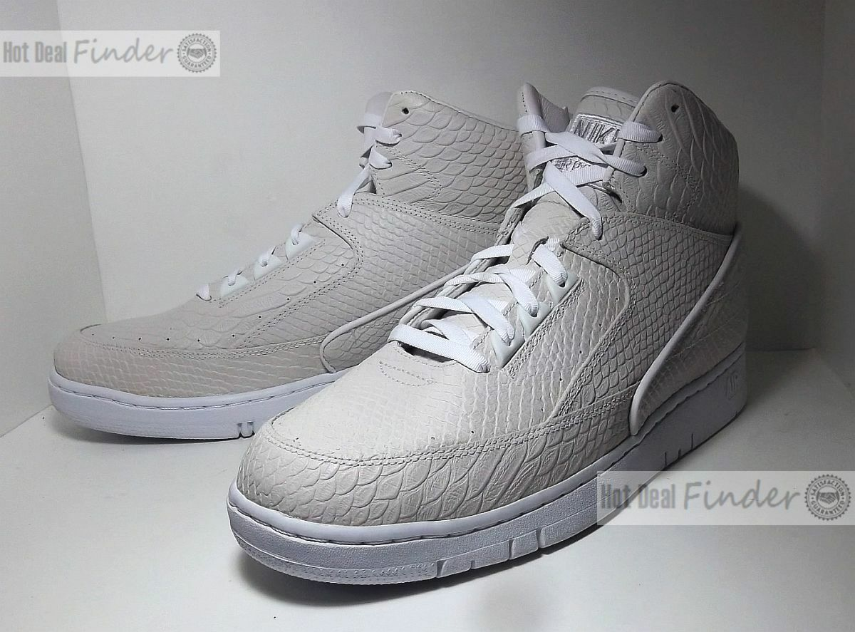 NEW NIKE AIR PYTHON = SIZE 12.5 = PREMIUM HI MEN'S SHOES SNEAKERS 705066-100