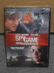 Spy-Game-DVD-Full-Screen-Edition-Robert-Redford-amp-Brad-Pitt-2002-Brand-New