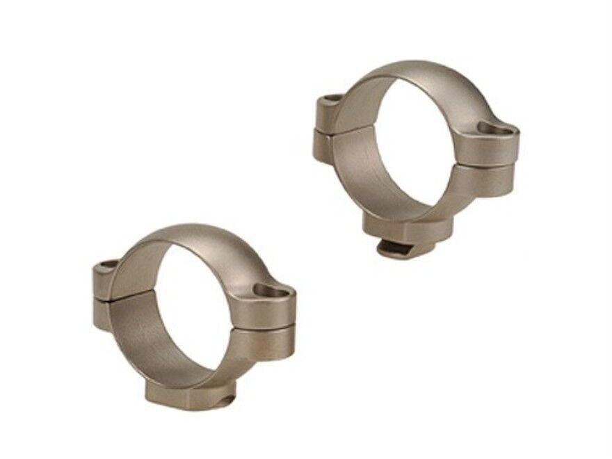 Leupold 30mm Mediano anillos-plata Standard