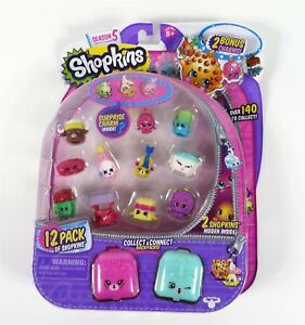 Shopkins-Season-5-12-pack-3-Brand-New-Sealed-Mystery-Figure-Ultra-Rare-Limited