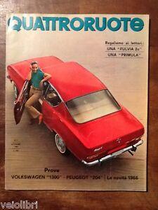 Quattroruote-117-settembre-1965-Volkswagen-1300-e-1600-Peugeot-204