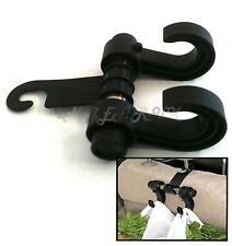 Back Car Seat Head Rest Plastic Shopping Hand Bag Holder Hanging Hook Carry