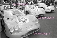 Matra MS620 in the pit area Le Mans 1966 Photograph 2