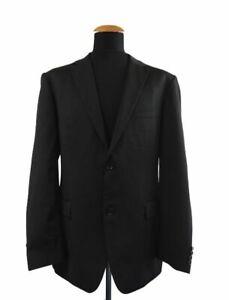 Hugo-Boss-Pasolini1-Movie1-Sakko-Gr-106-54-Schwarz-Blazer-size-44L-UK-C99