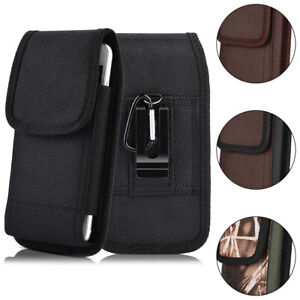 premium selection 18f4a c8cba Details about iNNEXT Vertical Case Pouch Belt Clip Holster For  iPhone/Samsung Large Cell Phone