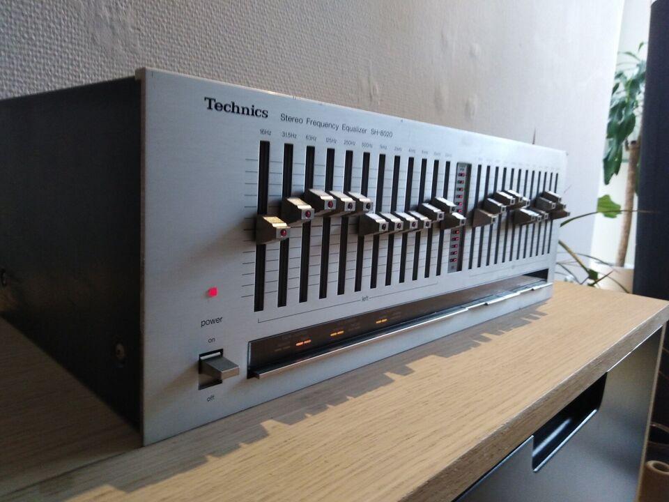 Equalizer, Technics, SH 8020