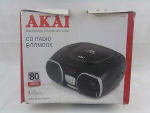 AKAI a60009 CD Radio Stereo Portatile in Scatola