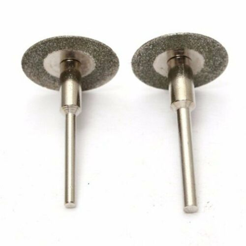 10 piezas 3 mm//2.35 Mm Sierra De Corte De Diamante Rueda conjunto de herramientas rotativas de hojas de discos