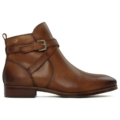 Pikolinos Womens Boots Royal W4D Casual Zip-Up Buckle Ankle Leather