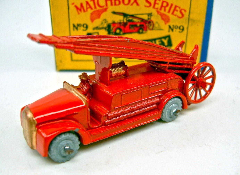Joie de Noël, étape par étape MATCHBOX MATCHBOX MATCHBOX rw 09a Fire Engine NEUF dans