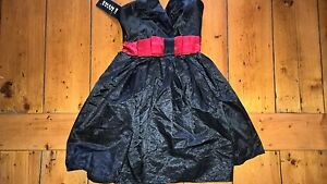 Bnwt-Sheng-Nini-little-black-dress-above-knee-cocktail-party-8-10