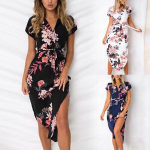 Summer-Lady-Boho-Floral-Long-Maxi-Dress-Cocktail-Party-Evening-Beach-Sundress-JP