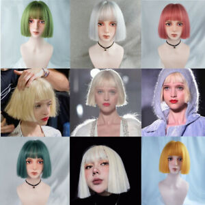 6-Colors-Synthetic-Hair-Heat-Resistant-Hair-Wig-Party-Straight-Short-Cosplay-Wig