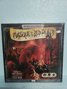 Edgar-Allen-Poe-039-s-Masque-of-the-Red-Death-Board-Game-by-IDW-IDW01379-Mask