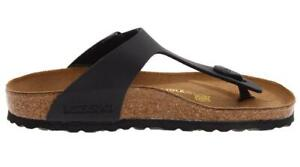 new product fa7b0 79df4 Details about Birkenstock Gizeh Black Women's Sandals